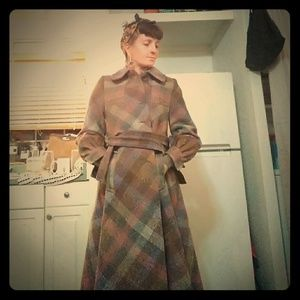 Vintage 60's Jimmy Hourihan baby doll overcoat